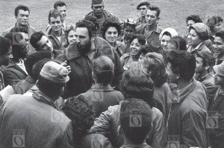 Fidel Castro en los años 60.