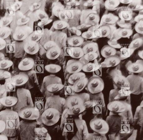 Mítin de trabajadores, Ciudad de México, 1926.