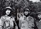 """Rául, Fidel y René Ramos Latour, """"Daniel""""."""