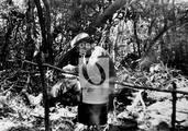 Ernesto Che Guevara en la selva boliviana
