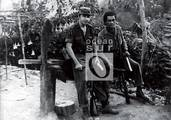 Raúl Castro Ruz y Juventino Alarcón.