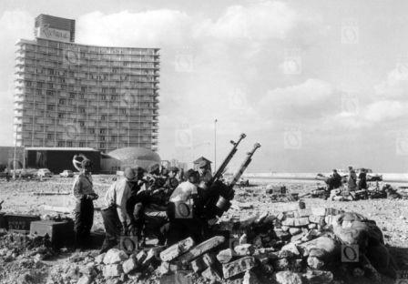 Crisis de Octubre, 1962. Fotografía © Oficina de Asuntos Históricos del Consejo de Estado, Cuba.