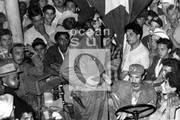 Tras la toma de la localidad de Fomento, durante la Campaña de Las Villas, 1958