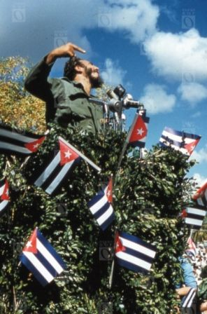 Fidel Castro Ruz. Discurso. Fotografía © Oficina de Asuntos Históricos del Consejo de Estado, Cuba.