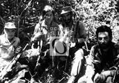 Coco Peredo, Loyola Guzmán, Inti Peredo y Gustavo Machín