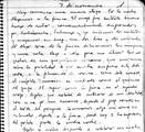 Una página del diario del Che Guevara