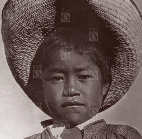 Niño con sombrero, Veracruz, México, 1927