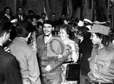 En 1960, en el Palacio de Bellas Artes