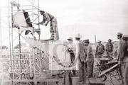 Construyendo el futuro. Reparto José Martí. La Habana, 1959