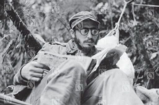Fidel Castro durante la Guerra Revolucionaria cubana (1956-1958).