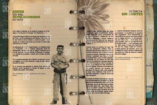 """Textos acerca de sus compañeros de lucha: """"Amigo sin par, revolucionario sin tacha"""", dedicado a Ciro Redondo; y """"Audacia sin límites"""", sobre la labor revolucionaria de Clodomira Acosta y Lidia Doce."""