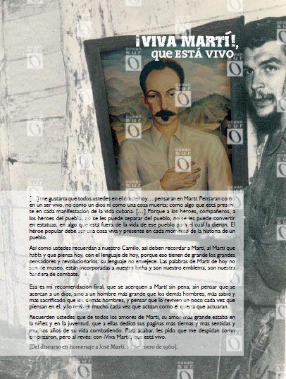 """""""¡Qué viva Martí!, que está vivo"""", fragmentos del discurso en homenaje a José Martí pronunciado el 28 de enero de 1960"""