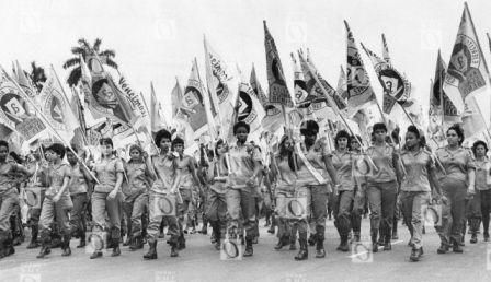 Campaña de Alfabetización, 1961. Fotografía © Oficina de Asuntos Históricos del Consejo de Estado, Cuba.