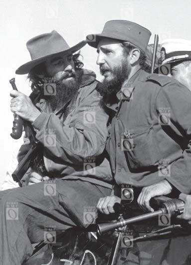 Camilo Cienfuegos y Fidel Castro, enero de 1959. Fotografía de Alberto Korda.