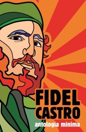 Portada de «Fidel Castro. Antología mínima» (Ocean Sur, 2008)
