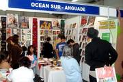 Numerosos visitantes tuvo el stand de Ocean Sur en FILGUA 2010