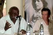 Los comandantes Víctor Dreke y Oscar Fernández Mell, líderes del destacamento cubano en África