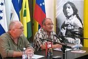 Roberto Regalado y Hugo Moldiz
