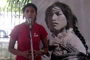 Erika Zúniga, militante del FMLN, comenta sobre la realidad salvadoreña