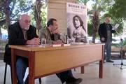 Alfonso Fraga, director de la OSPAAAL, introduce la presentación