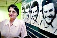 La investigadora cubana María del Carmen Ariet, una de las más conocedoras del Che