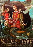 Cartel del 31 Festival de Cine de La Habana