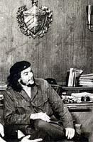 Ernesto Che Guevara en el Banco Nacional de Cuba