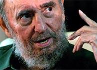 Fidel Castro, durante la entrevista a Carmen Lira
