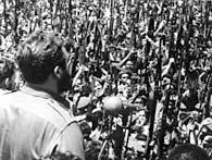 Fidel Castro proclama el carácter socialista de la Revolución Cubana en 1961