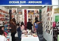 Vista del pabellón de Ocean Sur en la Feria del Libro de Guatemala, 2010