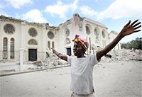 El panorama de Puerto Príncipe arrasada por el sismo es siniestro; pero antes del sismo también lo era