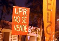 Los estudiantes de la universidad de Puerto Rico, en huelga por una educación para todos