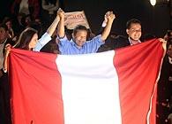 El líder nacionalista peruano Ollanta Humala resultó electo como presidente de Perú