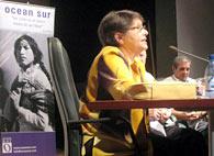 La investigadora cubana María del Carmen Ariet presentó su libro sobre el pensamiento político del Che Guevara