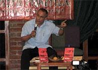 El Embajador de Cuba Dr. Pedro P. Prada, en la presentación del libro «Obama y el imperio» (Ocean Sur, 2011)