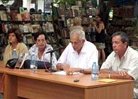 Presentación del libro «Vilma Espín. La flor más universal de la Revolución Cubana», en La Habana, agosto del 2010