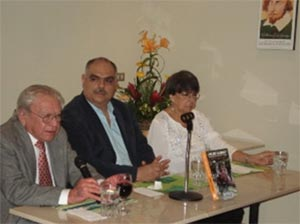 Carlos Guzmán Böckler, Sandino Asturias y María del Rosario Valenzuela
